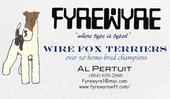 Fyrewyre Wire Fox Terriers