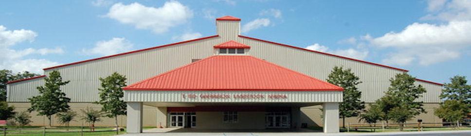 entryway of Garrison Arena